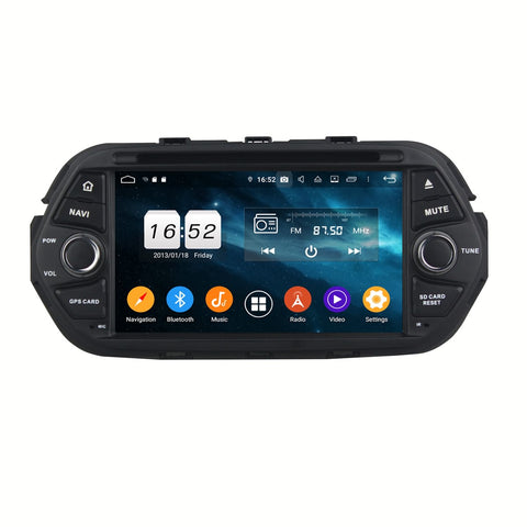 Android 9.0 OS 7 inch Touchscreen Car Radio for Fiat Tipo Egea(2016-2020), Octa Core 1.5G CPU 4G DDR3 RAM 32G Flash, Auto Radio GPS Bluetooth 4G WIFI OBDII MirrorLink - foyotech