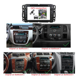 7 inch Android 9.0 OS Car DVD Player for Chevrolet Silverado(2008-2013)/Impala(2006-2013)/Avalanche(2007-2012), Octa Core 1.5G CPU 4G DDR3 RAM 32G Flash, Auto GPS Bluetooth 4G WIFI OBD2 MirrorLink - foyotech