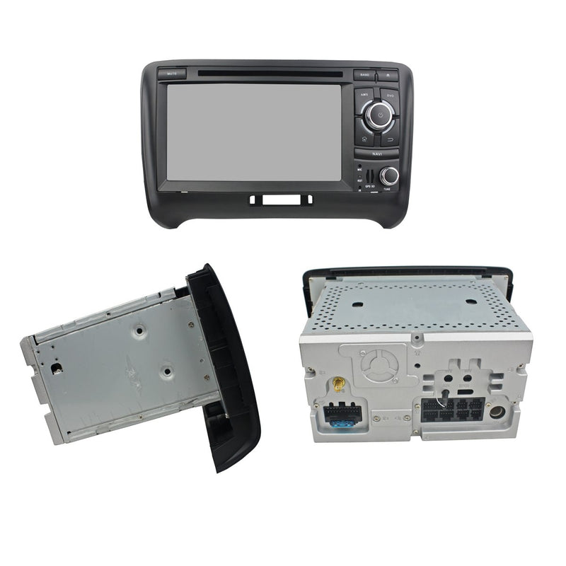 Android 10 OS 2 Din Touch Screen Autoradio Stereo Headunit for Audi TT 2006 2007 2008 2009 2010 2011 2012 2013. Octa Core 1.5G CPU 32G Flash 4G DDR3 RAM. Auto Radio DVD Navi 3G 4G WIFI Bluetooth USB/SD DSP Carplay Auto Steering Wheel Control. Double Din Vehicle Multimedia Player System Head Unit. Plug and Play cable!