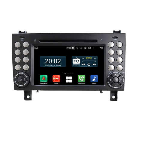 7 inch Touchscreen Android 10 OS Autoradio Stereo for Benz SLK Class R171 W171(2002-2011) SLK200 SLK280 SLK300 SLK350 SLK55, Octa Core 1.5G CPU 32G Flash 4G DDR3 RAM. 2 Din Car DVD Player GPS Navigation 3G 4G WIFI Bluetooth USB/SD DSP Carplay Auto Steering Wheel Control OBD2. Plug and Play cable Double Din Vehicle Multimedia System Head Unit.