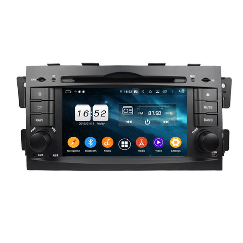 7 inch Touchscreen Android 9.0 OS Car DVD Player for Kia Mohave/Borrego(2008-2010), 8 Core 1.5G CPU 4G DDR3 RAM 32G Flash, Auto Radio GPS Navigation Bluetooth 4G WIFI OBDII MirrorLink Headunit - foyotech