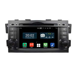 1024x600 Touchscreen Android 10 Autoradio Stereo for Kia Mohave/Borrego 2008 2009 2010. Octa Core 1.5G CPU 32G Flash 3G 4G DDR3 RAM. 2 Din Auto Radio GPS Navigation 4G WIFI Bluetooth USB/SD DVD Player DSP Carplay Auto Steering Wheel Control OBDII. Plug and Play Double Din Vehicle Multimedia Player System Head Unit.