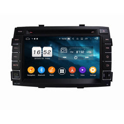 7 inch Android 9.0 OS Car GPS Navigation DVD Player for Kia Sorento(2010-2012), Octa Core 1.5G CPU 4G DDR3 RAM 32G Flash, Touchscreen Auto Radio Bluetooth 4G WIFI OBDII MirrorLink Headunit - foyotech