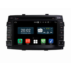 1024x600 Touchscreen Android 10 OS Autoradio Stereo for Kia Sorento 2010 2011 2012. Octa Core 1.5G CPU 32G Flash 3G 4G DDR3 RAM. 2 Din Auto Radio GPS Navigation 3G 4G WIFI Bluetooth USB/SD DVD Player DSP Carplay Steering Wheel Control OBDII. Plug and Play cable Double Din Vehicle Multimedia Player System Head Unit.