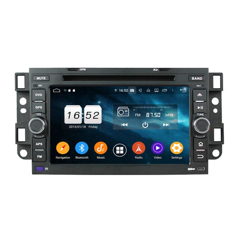 7 inch Touchscreen Android 9.0 OS Car GPS Navigation for Chevrolet Aveo/Epica/Lova/Spark/Optra/Captiva, Octa Core 1.5G CPU 4G DDR3 RAM 32G Flash, Auto DVD Player Radio Stereo Bluetooth 4G WIFI OBD2 MirrorLink - foyotech