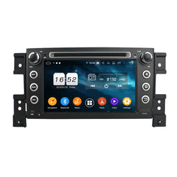 7'' Touchscreen Android 9 Pie OS Autoradio Stereo for Suzuki Vitara 2006 2007 2008 2009 2010 2011. Octa Core 1.5G CPU 32G Flash 4G DDR3 RAM. 2 Din Radio DVD Player GPS Navigation 3G 4G WIFI Bluetooth USB/SD DVD Player MirrorLink Steering Wheel Control OBDII. Plug and Play Double Din Vehicle Multimedia System Head Unit.