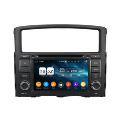 7 inch Touchscreen Android 9.0 OS Car Radio for Mitsubishi Pajero(2006-2012), Octa Core 1.5G CPU 4G DDR3 RAM 32G Flash, Auto DVD Player GPS Navigation Bluetooth 4G WIFI OBDII MirrorLink Headunit - foyotech
