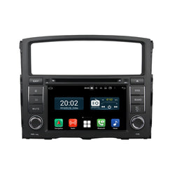 7'' Touchscreen Android 10 Autoradio Stereo for Mitsubishi Pajero 2006 2007 2008 2009 2010 2011 2012. 8 Core 1.5G CPU 32G Flash 4G DDR3 RAM. 2 Din Car Radio DVD GPS 3G 4G WIFI Bluetooth USB/SD DVD Player DSP Carplay Auto Steering Wheel Control OBD2. Plug and Play cable Double Din Vehicle Multimedia System Head Unit