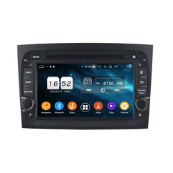 7 inch Touchscreen Android 9.0 OS Car Stereo for Fiat Doblo(2016-2019), Octa Core 1.5G CPU 4G DDR3 RAM 32G Flash, 1 Din Auto Radio GPS Bluetooth 4G WIFI OBDII MirrorLink - foyotech