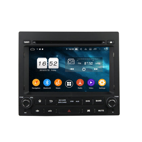 7 inch 1 Din Android 9.0 OS Car DVD Player GPS Navigation for Peugeot 405, Octa Core 1.5G CPU 4G DDR3 RAM 32G Flash, Auto Radio Stereo Bluetooth 4G WIFI OBD2 MirrorLink - foyotech