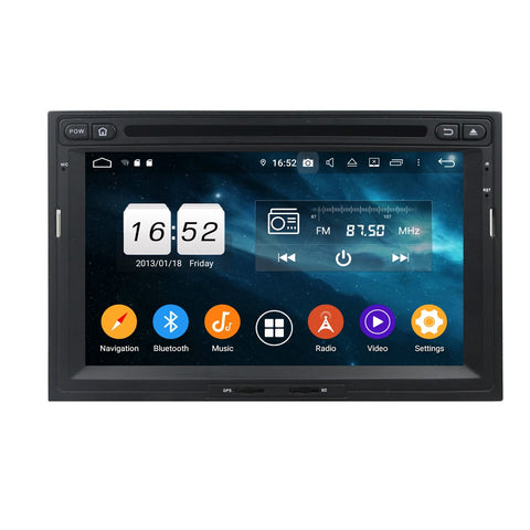 7 inch Android 9.0 OS Car DVD Player GPS Navigation for Citroen Berlingo(2010-2018), Octa Core 1.5G CPU 4G DDR3 RAM 32G Flash, Auto Radio Stereo Bluetooth 4G WIFI OBD2 MirrorLink - foyotech