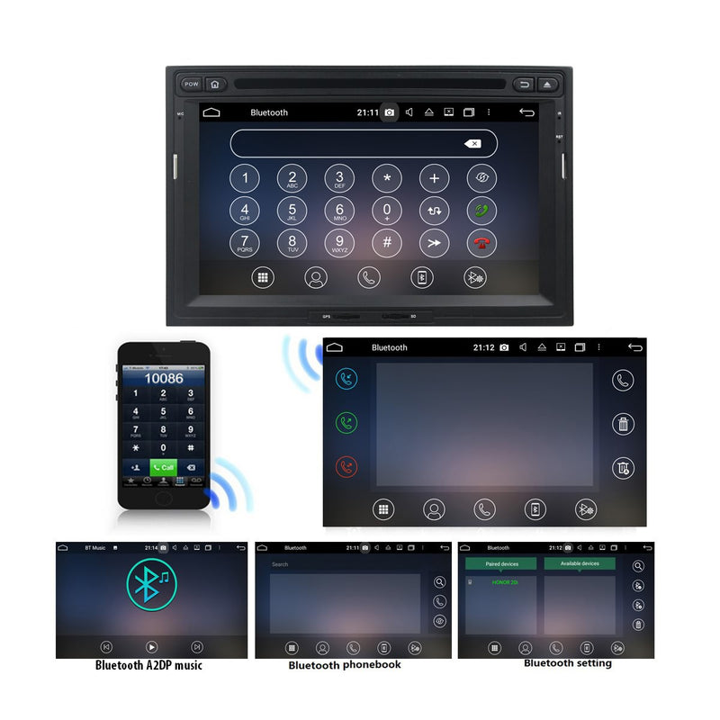 7 inch Android 10 Autoradio Stereo Navigation Headunit for Citroen Berlingo 2010 2011 2012 2013 2014 2015 2016 2017 2018. Octa Core 1.5G CPU 32G Flash 4G DDR3 RAM. 2 Din Auto Radio GPS 4G WIFI Bluetooth USB/SD DVD Player MirrorLink Steering Wheel Control OBDII. Double Din Vehicle Multimedia Player System Head Unit