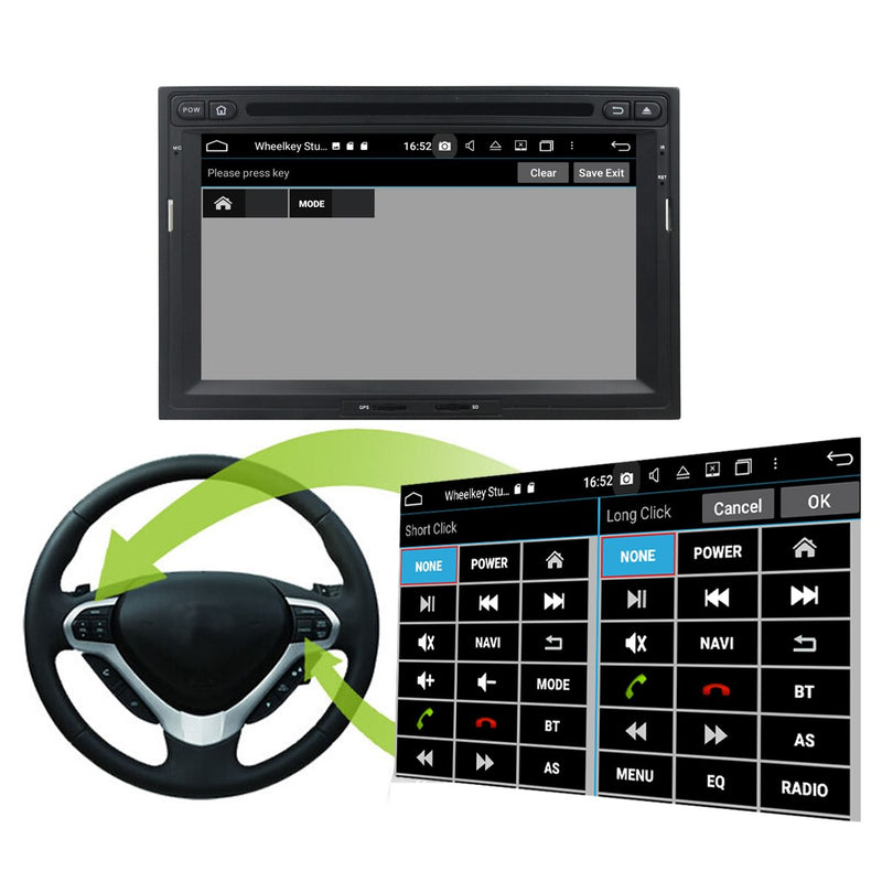 7'' Android 10 Autoradio Stereo Navigation Headunit for Peugeot 3008/5008(2009 2011 2012 2013 2014 2015 2016). Octa Core 1.5G CPU 32G Flash 4G DDR3 RAM. 2 Din Auto Radio GPS 4G WIFI Bluetooth USB/SD DVD Player DSP Carplay Steering Wheel Control OBDII. Double Din Vehicle Multimedia Player System Head Unit