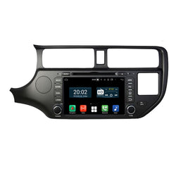 7 inch Touchscreen Android 10 Autoradio Stereo Headunit for Kia K3/Rio 2011 2012 2013 2014. Octa Core 1.5G CPU 32G Flash 3G 4G DDR3 RAM. 2 Din Auto Radio DVD GPS Navigation 3G 4G WIFI Bluetooth USB/SD Carplay & Android Auto Steering Wheel Control OBDII. Plug and Play Double Din Vehicle Multimedia Player System Head Unit.