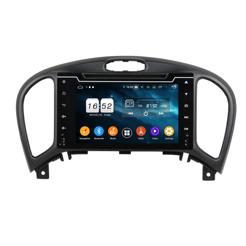 7 inch Android 9.0 OS Car Radio GPS Navigation Headunit for Nissan Juke(2014-2018), Octa Core 1.5G CPU 4G DDR3 RAM 32G Flash, Touchscreen Auto DVD Player Stereo Bluetooth 4G WIFI OBD2 MirrorLink - foyotech