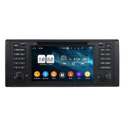 7 inch Touchscreen Android 9.0 OS Car GPS Headunit for BMW M5&E39(1995-2003)/X5&E53(2000-2007), Octa Core 1.5G CPU 4G DDR3 RAM 32G Flash, Auto DVD Player Radio Bluetooth 4G WIFI - foyotech