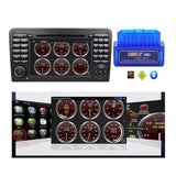 7 inch Touchscreen Android 9.0 OS Car Stereo for Benz W164(2005-2012)(ML300 ML350 ML450 ML500), Octa Core 1.5G CPU 4G DDR3 RAM 32G Flash, Auto DVD Player Radio GPS Navigation Bluetooth 4G WIFI - foyotech