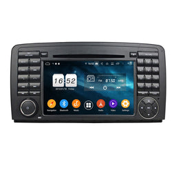 Android 9.0 Pie OS 2 Din 1024x600 Touch Screen Autoradio Headunit for Benz W251/R280/R300/R320/R350/R500(2006 2007 2008 2009 2010 2011), Otca Core 1.5G CPU 32G Flash 4G DDR3 RAM, Auto Radio GPS Navigation 3G 4G WIFI Bluetooth USB/SD MirrorLink Steering Wheel Control. Double Din Vehicle Multimedia Player System Head Unit. Plug and Play!