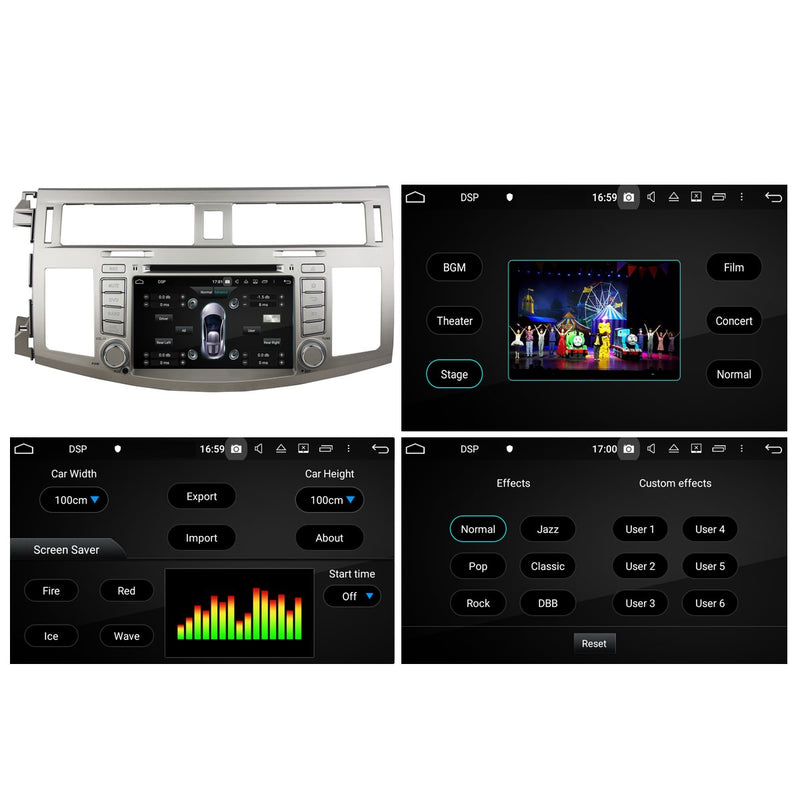 7 inch Touchscreen Android 10 Autoradio Stereo for Toyota Avalon 2008 2009 2010. Octa Core 1.5G CPU 32G Flash 4G DDR3 RAM. 2 Din Car Radio DVD Player GPS Navigation 3G 4G WIFI Bluetooth USB/SD DSP Carplay Steering Wheel Control OBD2. Plug and Play cable Double Din Vehicle Multimedia System Head Unit