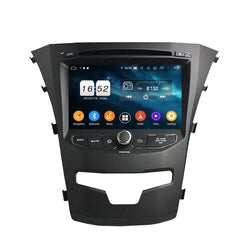 7 inch Android 9.0 OS Car Radio DVD Player Headunit for SsangYong Korando(2014-2018), Octa Core 1.5G CPU 4G DDR3 RAM 32G Flash, Auto GPS Navigation Bluetooth 4G WIFI OBDII MirrorLink - foyotech
