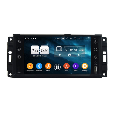7 inch Android 9.0 OS Car Stereo for Chrysler Sebring/300C/Aspen(2007-2010)/Pacifica(2004-2008)/Town&Country(2010-2015), 8 Core 1.5G CPU 4G DDR3 RAM 32G Flash, Auto GPS Bluetooth 4G WIFI OBD2 MirrorLink - foyotech