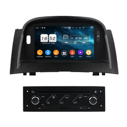 7 inch Android 9.0 OS Car Radio Headunit for Renault Megane II(2004-2009), Octa Core 1.5G CPU 4G DDR3 RAM 32G Flash, Touchscreen Auto Radio GPS Bluetooth 4G WIFI OBDII MirrorLink - foyotech