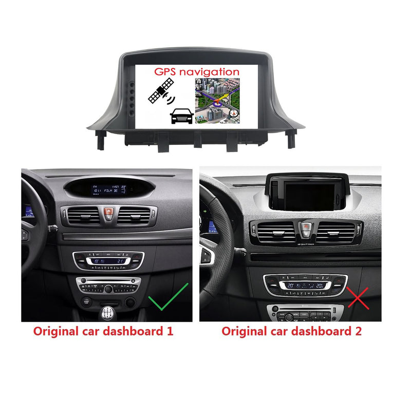 1 Din Android 10 OS Autoradio Stereo Navigation Headunit for Renault Megane III 2010 2011 2012 2013 2014 2015 2016. 8 Core 1.5G CPU 32G Flash 4G DDR3 RAM. Auto Radio GPS Navi 3G 4G WIFI Bluetooth USB/SD DSP Carplay Auto Steering Wheel Control OBDII. Plug and Play cable Single Din Vehicle Multimedia Player System Head Unit