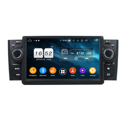 7 inch Android 9.0 OS Car GPS Navigation for Fiat Punto/Linea(2007-2011), Octa Core 1.5G CPU 4G DDR3 RAM 32G Flash, Auto Radio Stereo Bluetooth 4G WIFI OBD2 MirrorLink - foyotech