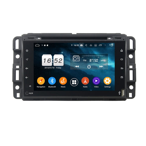 2 Din Android 9.0 OS Car Stereo for GMC Yukon/Tahoe/Acadia(2007-2012),  Octa Core 1.5G CPU 4G DDR3 RAM 32G Flash, 7 inch  Touchscreen Auto DVD Player GPS Navigation Bluetooth 4G WIFI OBD2 MirrorLink - foyotech