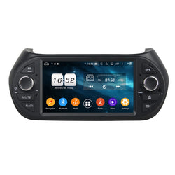 Android 9.0 OS 7 inch Car Stereo for Fiat Fiorino(2008-2015), Octa Core 1.5G CPU 4G DDR3 RAM 32G Flash, 1 Din Auto Radio GPS Navi Bluetooth 4G WIFI OBDII MirrorLink - foyotech
