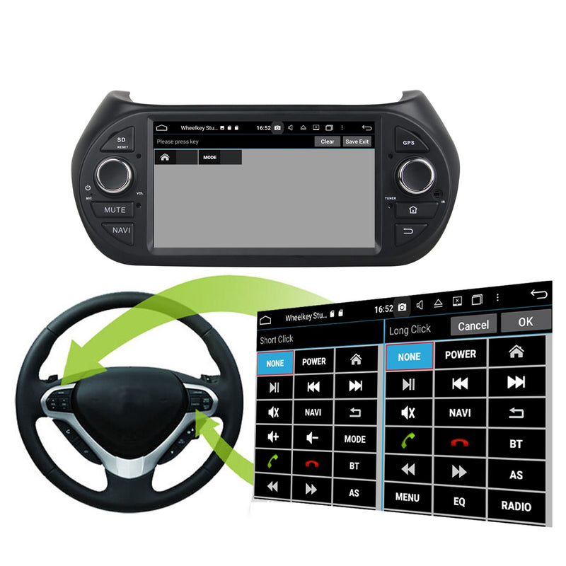 Android 10 1 Din Autoradio Stereo Navigation Headunit for Citroen Nemo 2008 2009 2010 2011 2012 2013 2014 2015. 8 Core 1.5G CPU 32G Flash 4G DDR3 RAM. Auto Radio GPS Navi 3G 4G WIFI Bluetooth USB/SD DSP Carplay Auto Steering Wheel Control OBDII. Plug and Play cable Single Din Vehicle Multimedia Player System Head Unit
