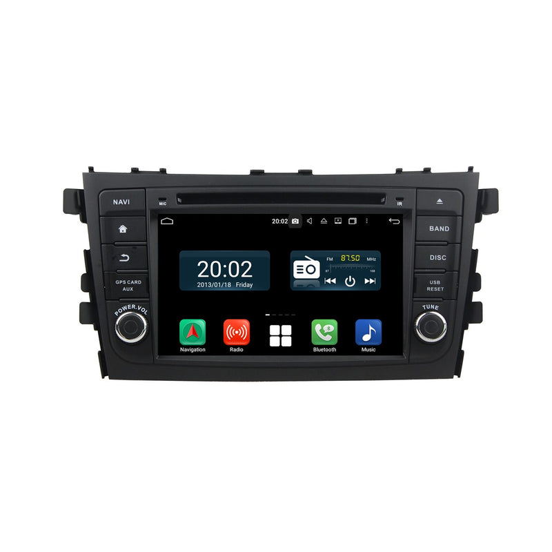 7'' Touchscreen Android 10 Autoradio Stereo for Suzuki Alto/Celerio/Cultus 2015 2016 2017 2018 2019 2020. Octa Core 1.5G CPU 32G Flash 4G DDR3 RAM. 2 Din Radio DVD Player GPS Navigation 3G 4G WIFI Bluetooth USB/SD DVD Player DSP Carplay Auto Steering Wheel Control OBDII. Plug and Play Double Din Vehicle Multimedia System Head Unit.