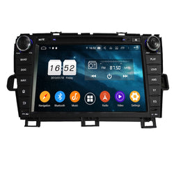 Android 9.0 OS Car GPS Radio Headunit for Toyota Prius(2009-2014) LHD, Octa Core 1.5G CPU 4G DDR3 RAM 32G Flash, 8 inch Touchscreen Auto DVD Player Bluetooth 4G WIFI OBDII MirrorLink - foyotech