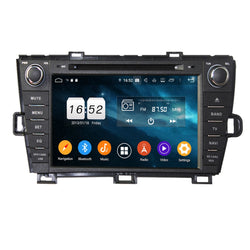 Android 9.0 OS Car GPS Radio Headunit for Toyota Prius(2009-2014) RHD, Octa Core 1.5G CPU 4G DDR3 RAM 32G Flash, 8 inch Touchscreen Auto DVD Player Bluetooth 4G WIFI OBDII MirrorLink - foyotech