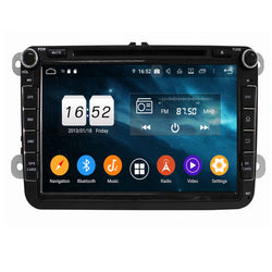 8 inch Touchscreen Android 9.0 OS Car DVD Player for Volkswagen Magotan/Caddy/Passat/ Sagitar/Tiguan/Touran/CC/Polo, Octa Core 1.5G CPU 4G DDR3 RAM 32G Flash - foyotech
