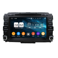 8 inch Touchscreen Android 9.0 OS Car DVD Player for Kia Carnival/Sedona(2014-2018), 8 Core 1.5G CPU 4G DDR3 RAM 32G Flash, Auto Radio GPS Navigation Bluetooth 4G WIFI OBDII MirrorLink Headunit - foyotech
