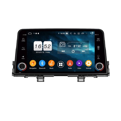 Android 9.0 Car Stereo for Kia Morning/Picanto(2016-2020), 4GB RAM+32GB ROM, 8 Inch Touchscreen DSP Auto Radio GPS Navigation Bluetooth 4G WIFI - foyotech
