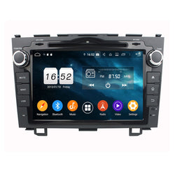 Android 9.0 OS 8 inch Touchscreen Car Radio DVD Player for Honda CRV(2006-2011), Octa Core 1.5G CPU 4G DDR3 RAM 32G Flash, Auto GPS Navigation Bluetooth 4G WIFI OBDII MirrorLink Headunit