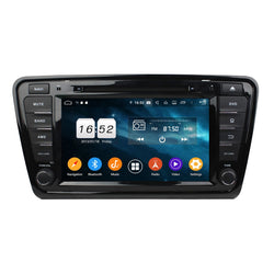 8 inch Touchscreen Android 9.0 OS Car GPS Head Unit for Skoda Octavia(2014-2016), Octa Core 1.5G CPU 4G DDR3 RAM 32G Flash, Auto Radio Bluetooth 4G WIFI OBDII MirrorLink - foyotech