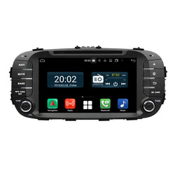1024x600 Touchscreen Android 10.0 OS Autoradio Stereo Headunit for Kia Soul 2014 2015 2016 2017 2018. Octa Core 1.5G CPU 32G Flash 3G 4G DDR3 RAM. 2 Din Auto Radio GPS Navigation 3G 4G WIFI Bluetooth USB/SD DVD Player DSP Carplay Auto Steering Wheel Control OBDII. Double Din Vehicle Multimedia Player System Head Unit.