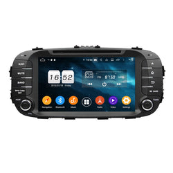 Android 9.0 OS 8 inch 1024x600 Touchscreen Car GPS Navigation DVD Player for Kia Soul(2014-2018), 8 Core 1.5G CPU 4G DDR3 RAM 32G Flash, Auto Radio Bluetooth 4G WIFI OBDII MirrorLink Headunit - foyotech