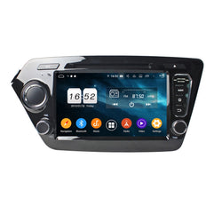 Android 9 Pie OS Autoradio Stereo Headunit for Kia K2/Rio 2011 2012 2013 2014 2015 2016 2017. Octa Core 1.5G CPU 32G Flash 3G 4G DDR3 RAM. 2 Din Auto Radio DVD GPS Navigation 3G 4G WIFI Bluetooth USB/SD MirrorLink Steering Wheel Control OBDII. Plug and Play Double Din Vehicle Multimedia Player System Head Unit.