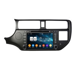 7 inch Touchscreen Android 9 Pie OS Autoradio Stereo Headunit for Kia K2/Rio 2011 2012 2013 2014. Octa Core 1.5G CPU 32G Flash 3G 4G DDR3 RAM. 2 Din Auto Radio DVD GPS Navigation 3G 4G WIFI Bluetooth USB/SD MirrorLink Steering Wheel Control OBDII. Plug and Play Double Din Vehicle Multimedia Player System Head Unit.