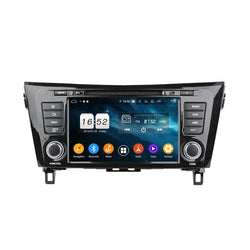 Touchscreen Android 9 Pie OS Autoradio Stereo Headunit for Nissan QashQai/X-Trail 2014 2015 2016 2017 2018. Octa Core 1.5G CPU 32G Flash 4G DDR3 RAM. 2 Din Radio DVD Player GPS Navi 4G WIFI Bluetooth USB/SD DVD Player MirrorLink Steering Wheel Control OBDII. Plug and Play Double Din Vehicle Multimedia System Head Unit.