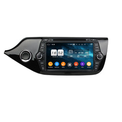 8 inch Android 9.0 OS Car DVD Player for Kia Ceed(2014-2018), Octa Core 1.5G CPU 4G DDR3 RAM 32G Flash, Touchscreen Auto Radio GPS Navigation Bluetooth 4G WIFI OBDII MirrorLink Headunit - foyotech