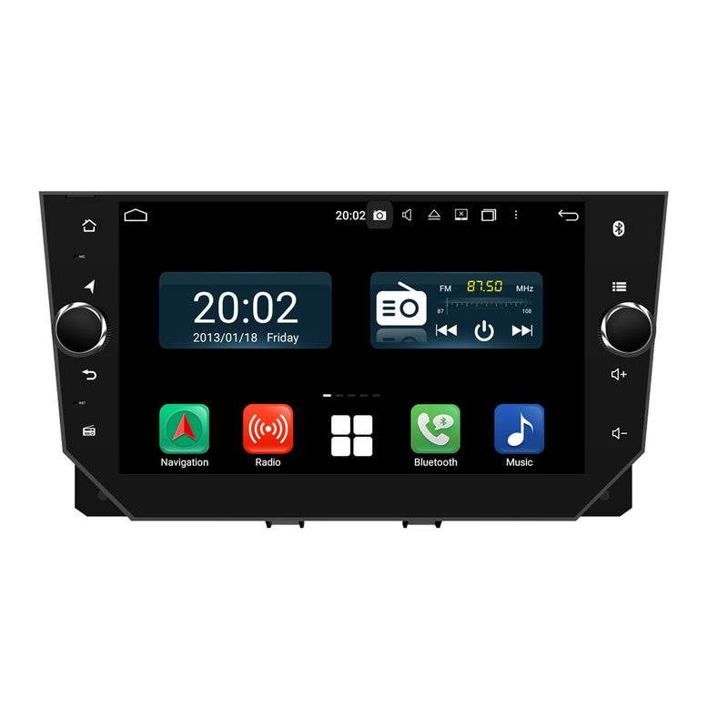 Android 10.0 OS 1024x600 Touch Screen Autoradio Navi Headunit for Seat Ibiza 2018 2019 2020. Octa Core 1.5G CPU 32G Flash 4G DDR3 RAM. Auto Radio DVD GPS Navigation 3G 4G WIFI Bluetooth USB/SD DSP Carplay Auto Steering Wheel Control. Single Din Vehicle Multimedia Player System Head Unit. Plug and Play cable!