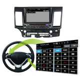 8'' Touchscreen Android 10 Autoradio Stereo for Mitsubishi Lancer 2006 2007 2008 2009 2010 2011 2012 2013 2014 2015 2016 2017 2018 2019. 8 Core 1.5G CPU 32G Flash 4G DDR3 RAM. 2 Din Car Radio DVD GPS 4G WIFI Bluetooth USB/SD DVD Player DSP Carplay Auto Steering Wheel Control OBD2. Double Din Vehicle Multimedia System Head Unit