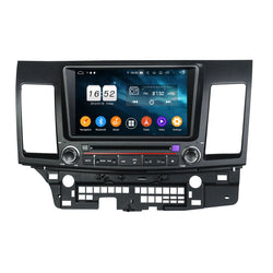 Android 9.0 OS 8 inch Touchscreen Car Radio for Mitsubishi Lancer(2006-2019), Octa Core 1.5G CPU 4G DDR3 RAM 32G Flash, Auto DVD Player GPS Navigation Bluetooth 4G WIFI OBDII MirrorLink Headunit - foyotech