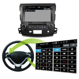 8'' Touchscreen Android 10 Autoradio Stereo for Mitsubishi Outlander 2006 2007 2008 2009 2010 2011 2012 2013. 8 Core 1.5G CPU 32G Flash 4G DDR3 RAM. 2 Din Car Radio DVD GPS 4G WIFI Bluetooth USB/SD DVD Player DSP Carplay Auto Steering Wheel Control OBDII. Plug and Play cable Double Din Vehicle Multimedia System Head Unit.