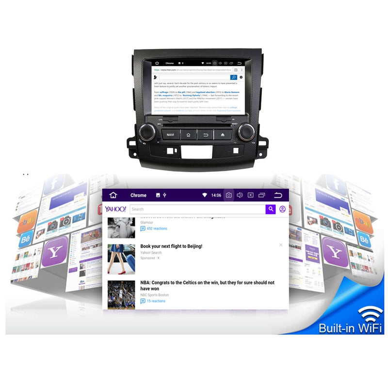 8 inch Touchscreen Android 10 OS Autoradio Stereo for Peugeot 4007(2006 2007 2008 2009 2010 2011 2012 2013). 8 Core 1.5G CPU 32G Flash 4G DDR3 RAM. 2 Din Car Radio DVD GPS 4G WIFI Bluetooth USB/SD DVD Player DSP Carplay Auto Steering Wheel Control OBDII. Plug and Play cable Double Din Vehicle Multimedia System Head Unit.